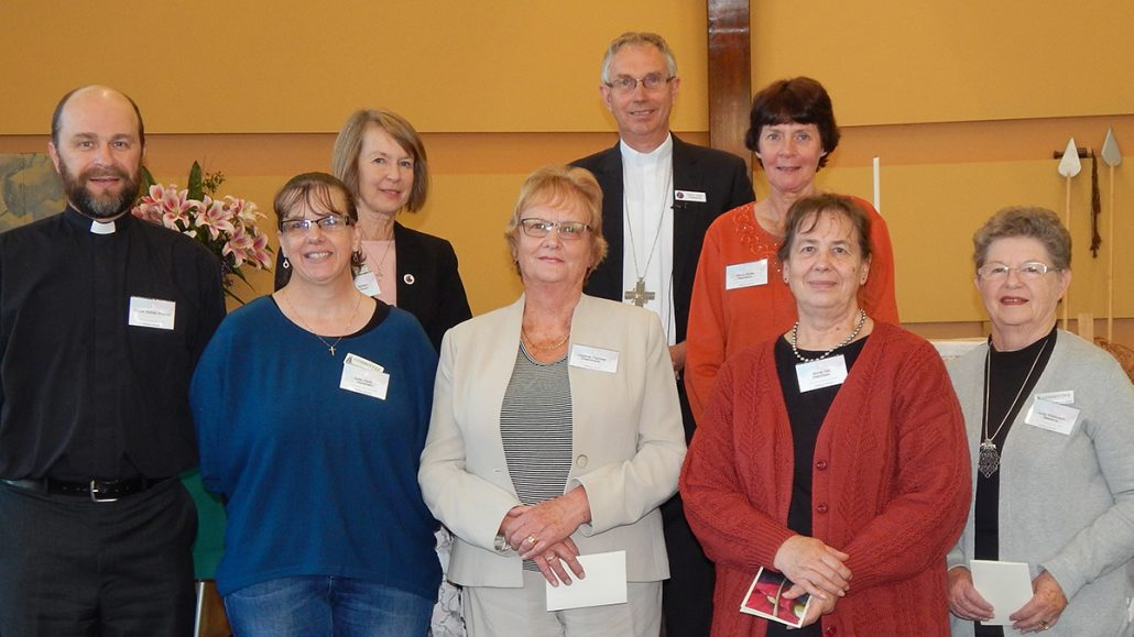 The executive committee of Lutheran Women of Victoria
